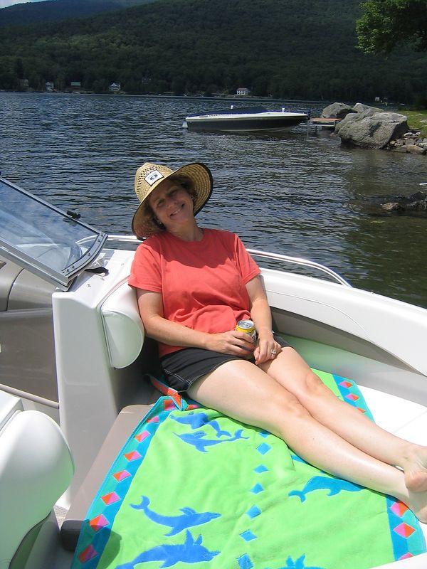 Stinson Lake July 2004