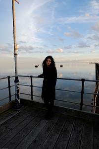 Sue on Pier
