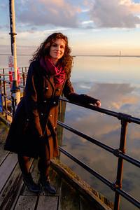 Sunset on Southend Pier