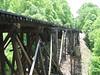 This is a rail road bridge.