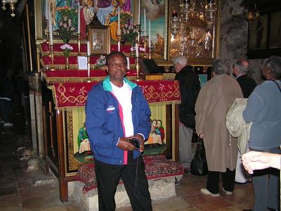 Sunny Imudia in Israel Nov 2004
