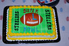 Cake for the post game victory celebration!