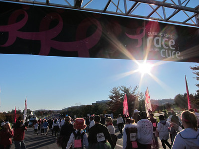 Susan G. Komen Walk for the Cure - October 21, 2012