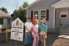 """Our"" Group, Detroit Carter Project, June 2005.  Susan, Mary, Karen, Charlene, Scott."