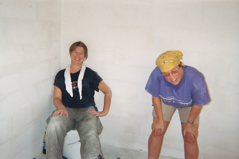 Susan and Gretchen, Veracruz Carter Project, October 2004