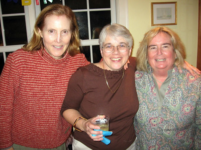 """the Three Amigos""  my best college friends from St Lawrence, Sue Hess and Mame (McGarrah) Bisaccio. photo by Dan"