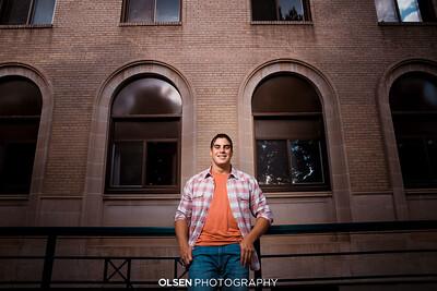 080419 TJ Huber Senior Photography Session Omaha, Nebraska Olsen Photography // Nathan Olsen