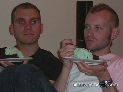 "Stephen, Jon -- ""deer in the headlights"" -- eating 'sex in a dish'"