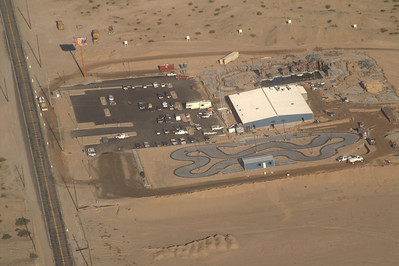 The new Yuma Fun Factory.  No grass on the mini-golf yet but it's looking pretty complete.