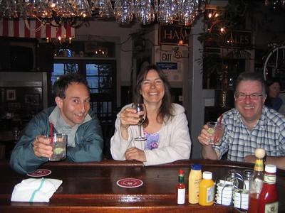 Shep, Cyndi, Steve at Rosies