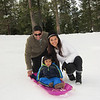 Sledding at Squaw Creek!