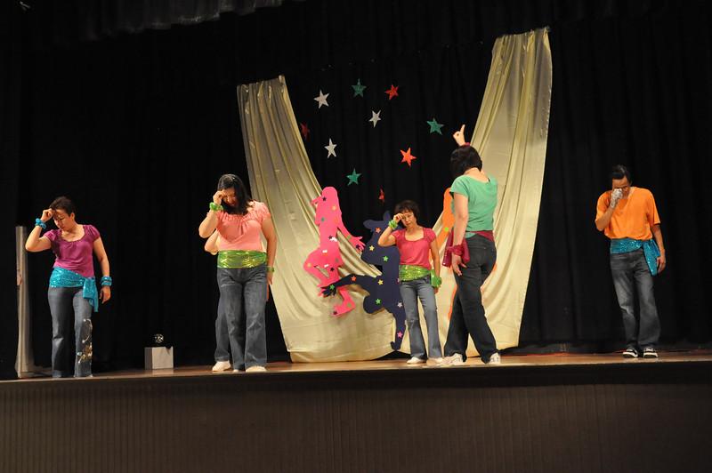 Line Dance.... I think they all got a headache?