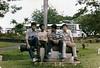 Chris, Kumar, Shan and Henry Ong, Melacca, 02-12-1982.