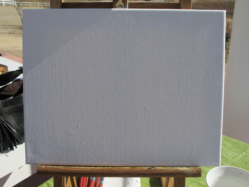 "Laura's ""blank slate""."