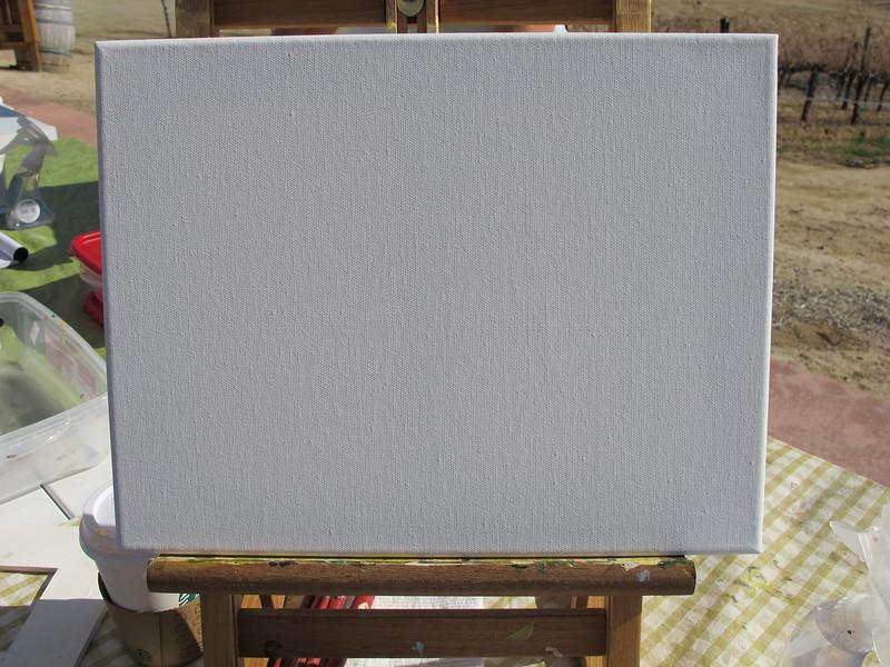 Jackie's blank slate