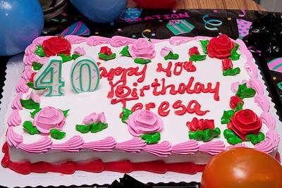 Teresa's 40th Birthday