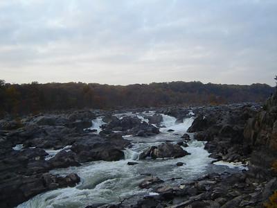 Terri's visit in DC - Potomac Hiking - November 3, 2008