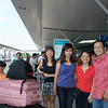At Tan Son Nhat Airport - Farewell to all friends <br /> Khanh, Hoa, Huong and Lan