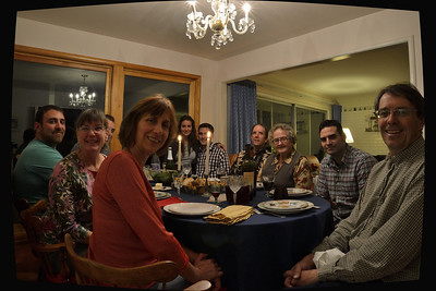 The Family at Davis, Thanksgiving.