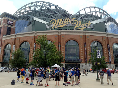 The Brewers Game – July 2014