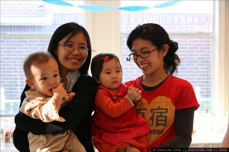 Wei and the twins.