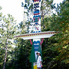 Totem Pole at Tom Thompson Cairn<br />