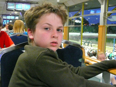 31/05/08 Saturday night at Belle Vue Dogs with the Garvey's