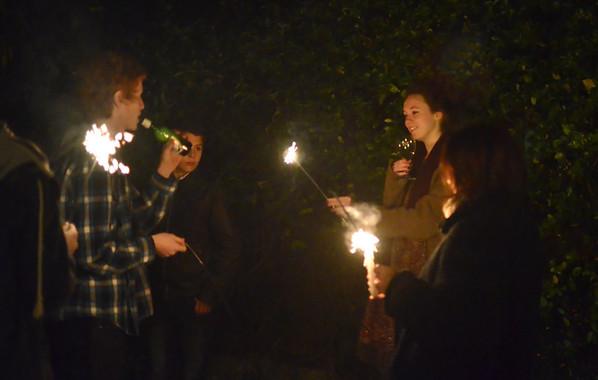 Bonfire night at the Garvey's 05-11-11