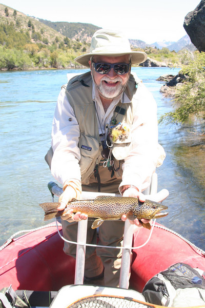 The Caleufu- Day 5-6- Bruce with a lovely brown and he gets his permanent grin
