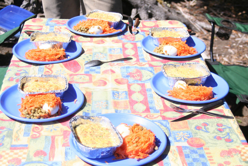 Lago Queni- Day 4- Quiche for Lunch