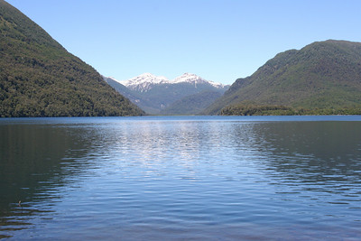 Lago Queni- Day 4- Chile and the Andes in the background