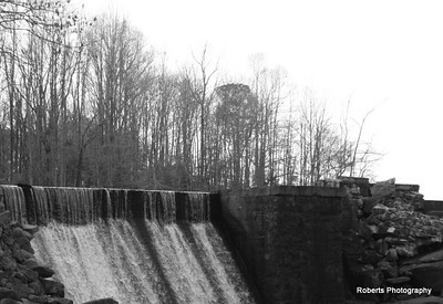 The dam at Perry's Pond...so beautiful