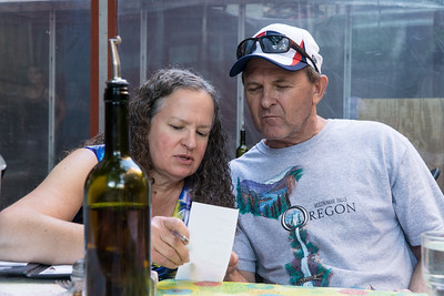 Sharon, Gary and the check. Cute couple! Hope to see you again soon!