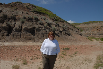 Miss Sheila in the Badlands