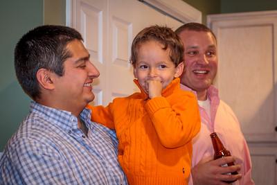 John, Liam & Zach