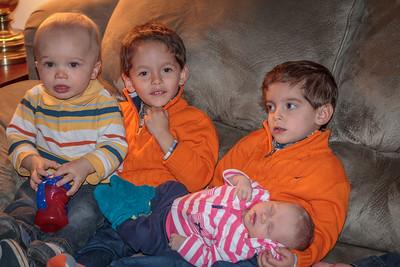 Hudson, Liam, Jack & Alexa