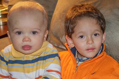Hudson & Liam
