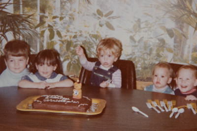CMS 2nd birthday party w/friends