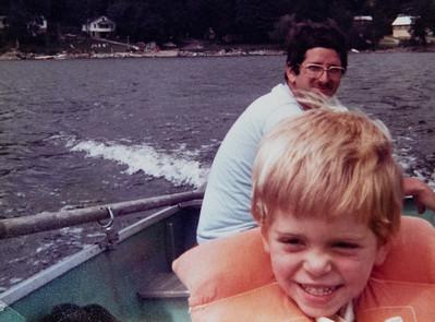 Indian Lake w/Thompsons  1981