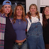 "Joanne, Donna, Glenda and Jillian show off their ""Bubba teeth."""