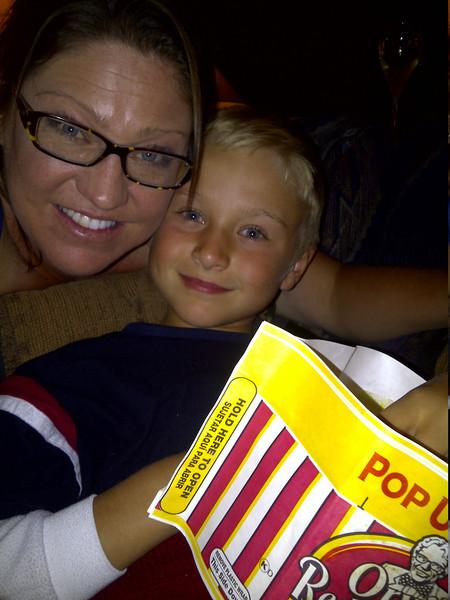 Friday family movie night!