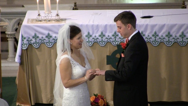 VIDEO:  Part 2 of 3 of Thomas/Norris Wedding Ceremony on November 29, 2014.  Click on photo and then on resulting triangle at which time video will play.  Since video is rather high definition, it may stop/go as it buffers out.  You may want to let it run for about 15 mins before actually watching it and then push time-line baer back to starting point.