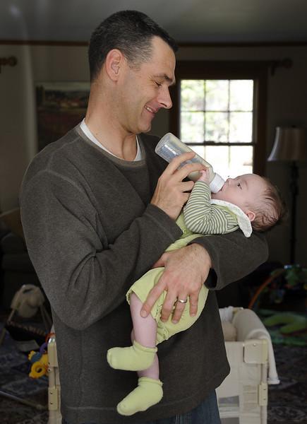 Thomas and Tom (aka Daddy!) on November 7 2009