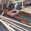 Restoration pieces (mast step?).