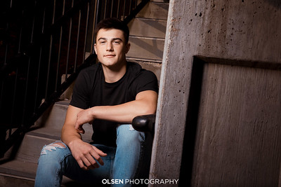 101919 Tre Knudsen Senior Photography Olsen Photography Gretna, Nebraska Created By // Nathan Olsen