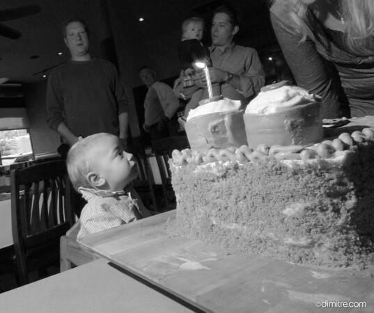 Trey's 1st Birthday