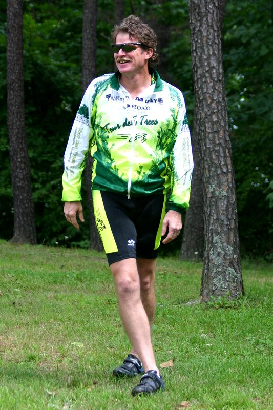 ********* [Ned White, John's oldest brother, wrote the following tribute for the funeral bulletin.] *************                     <br />                     <br /> <br /> John White died Sunday, July 31, while starting his Tour des Trees bike tour.