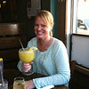 Roxanne enjoying her Texas Margarita.