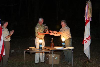 Troop 4 COH, Dec. 12, 2009