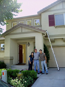 Monica, Pat, & Eric The Tsai's new home